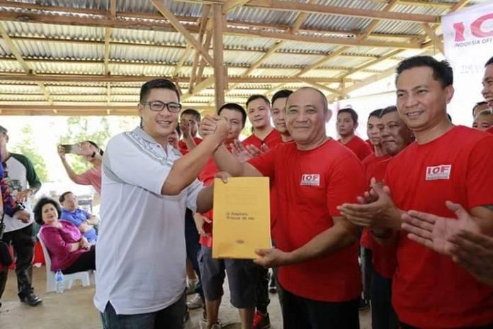 Heita Ketua IOF Manado