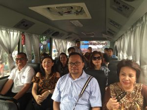 Rombongan Pansus LKPJ DPRD Manado
