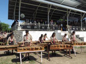 Musik Kolintang Persembahan SMP Don Bosco Manado