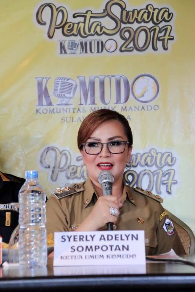 Ketua Umum Komudo Syerly Adelyn Sompotan