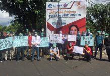 aksi bisu mahasiswa ppds-1 unsrat